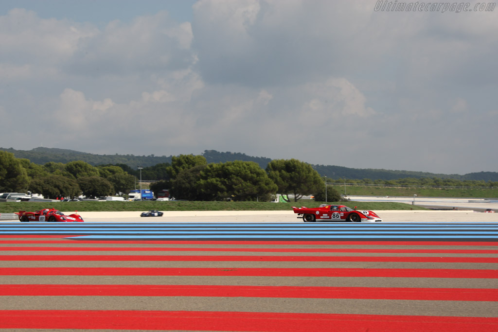 Ferrari 512M - Chassis: 1024 - Entrant: Steven Read - Driver: Giovanni Lavaggi  - 2014 Dix Mille Tours