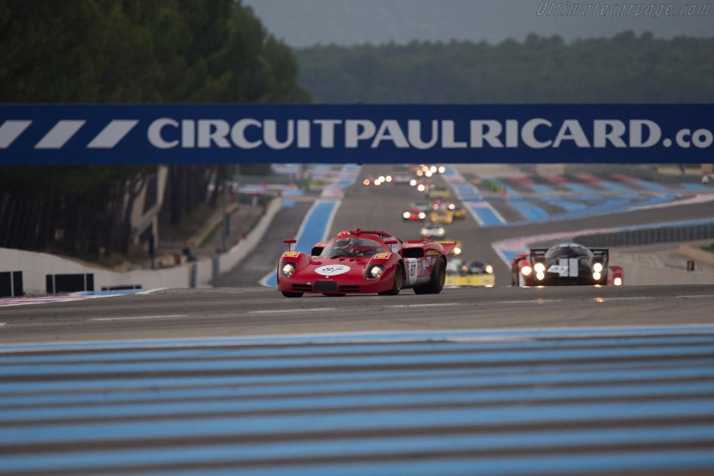 Ferrari 512S - Chassis: 1004 - Entrant: Peter Read - Driver: Bobby Verdon-Roe  - 2014 Dix Mille Tours