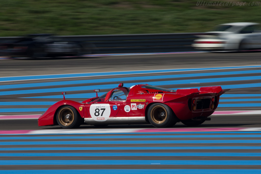 Ferrari 512S - Chassis: 1004 - Driver: Peter Read  - 2014 Dix Mille Tours