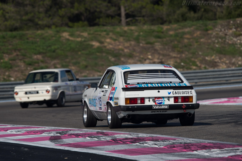 Ford Capri 3000 RS Mk3  - Driver: David Thomas  - 2014 Dix Mille Tours