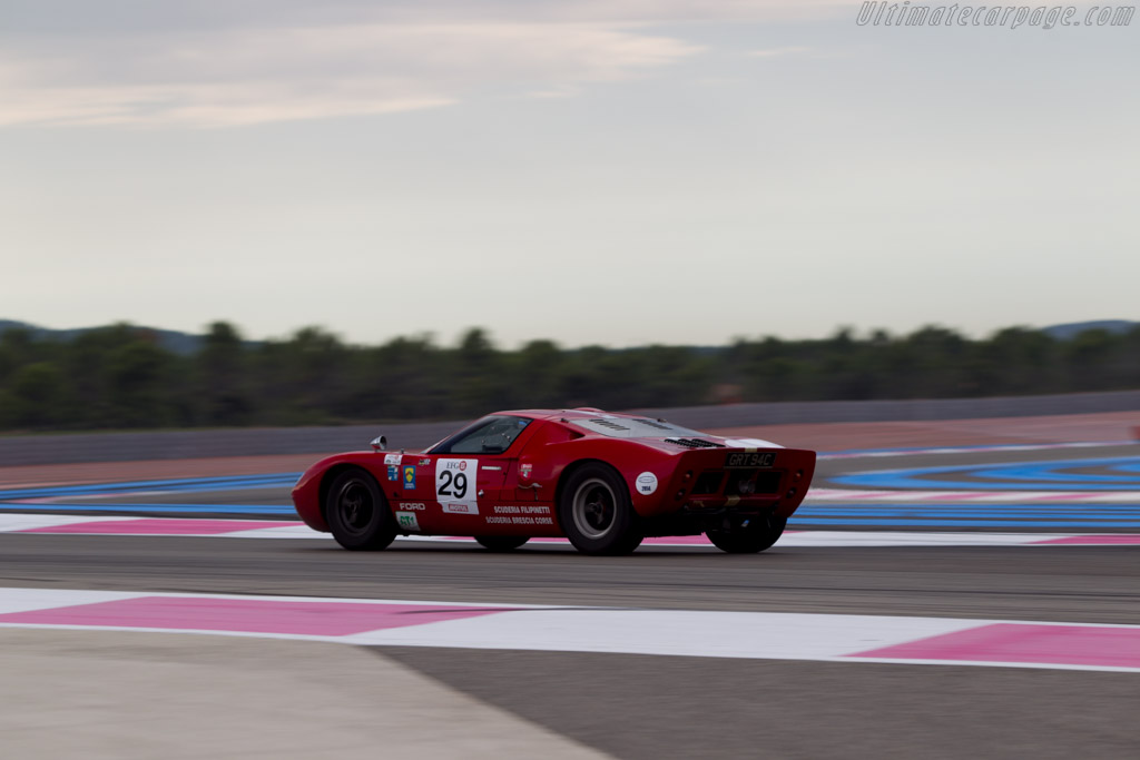 Ford GT40 - Chassis: GT40P/1042 - Driver: Xavier Galant / Vincent Neurisse  - 2014 Dix Mille Tours