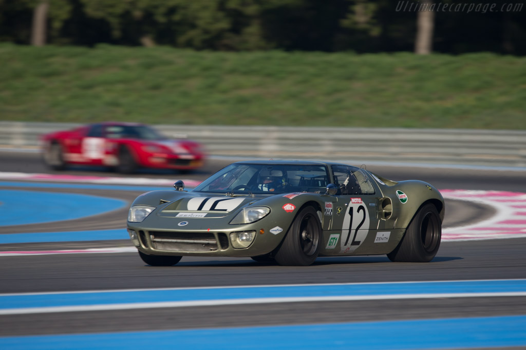 Ford GT40 - Chassis: GT40P/1078 - Driver: Claude Nahum  - 2014 Dix Mille Tours