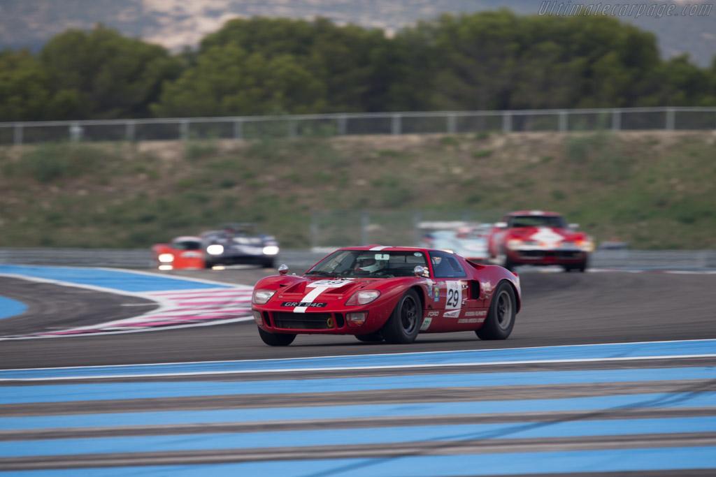 Ford GT40 - Chassis: GT40P/1042 - Driver: Xavier Galant / Vincent Neurisse  - 2014 Dix Mille Tours