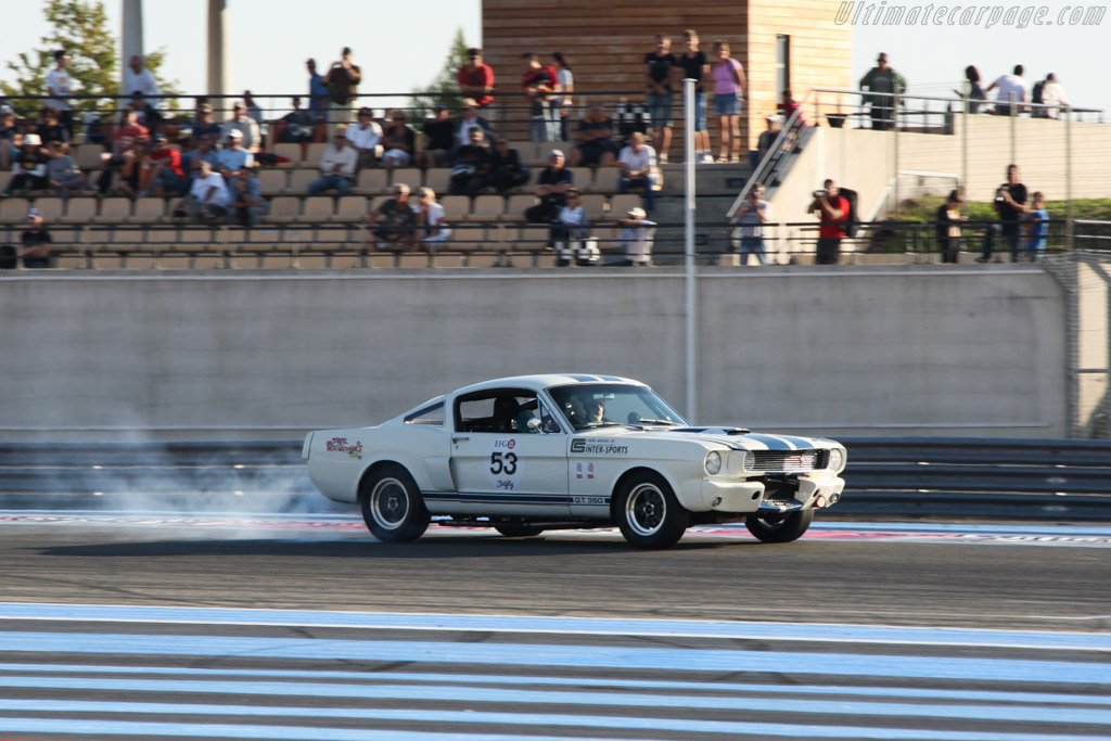 Ford Shelby Mustang GT350  - Driver: Ralf Huber Gutierrez  - 2014 Dix Mille Tours