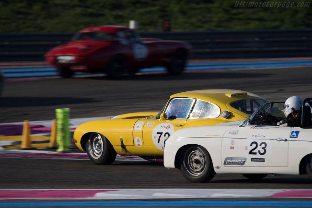 Jaguar E-Type - Chassis: 861039 - Entrant: Claude Nahum - Driver: Bernard Thuner  - 2014 Dix Mille Tours