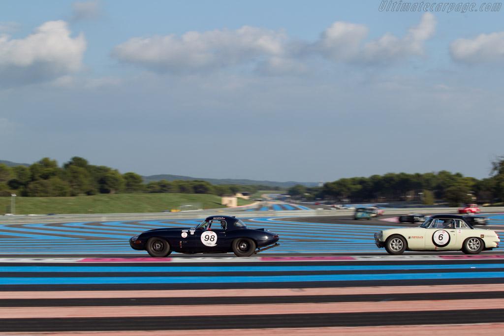 Jaguar E-Type  - Driver: Stephane Guyot-Sionnest  - 2014 Dix Mille Tours