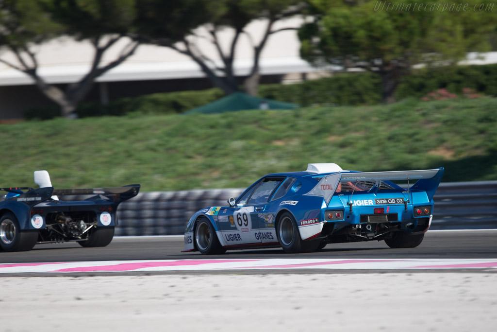 Ligier JS2 Cosworth - Chassis: 2538 73 03 - Driver: Mr John of B.  - 2014 Dix Mille Tours
