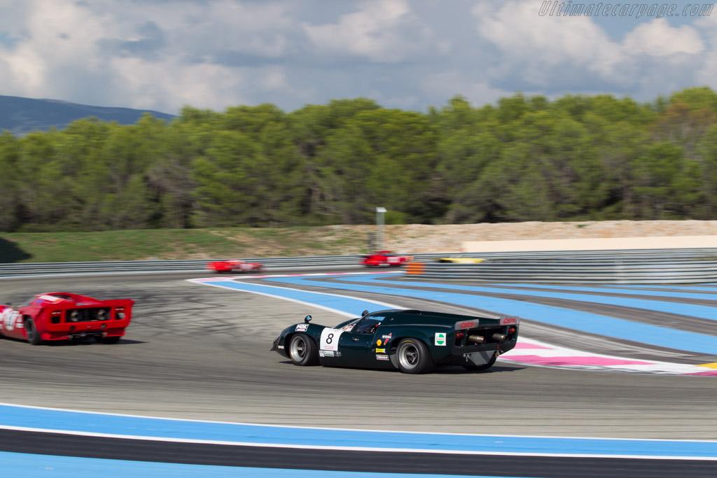 Lola T70 Mk3 Coupe - Chassis: SL73/113 - Driver: Marc Devis  - 2014 Dix Mille Tours