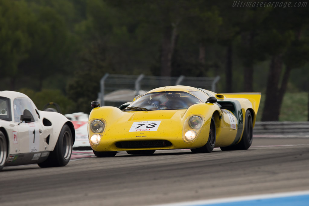 Lola T70 Mk3B Coupe - Chassis: SL76/148 - Entrant: ROFGO Collection - Driver: Stuart Hall  - 2014 Dix Mille Tours