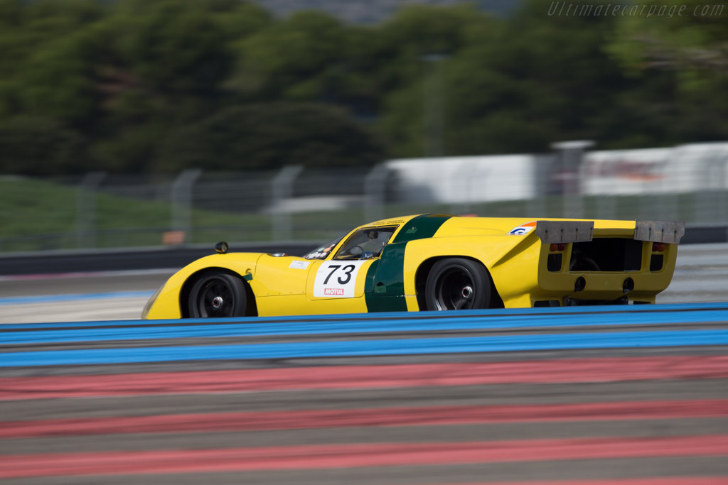 Lola T70 Mk3B Coupe - Chassis: SL76/148 - Entrant: ROFGO Collection - Driver: Roald Goethe  - 2014 Dix Mille Tours