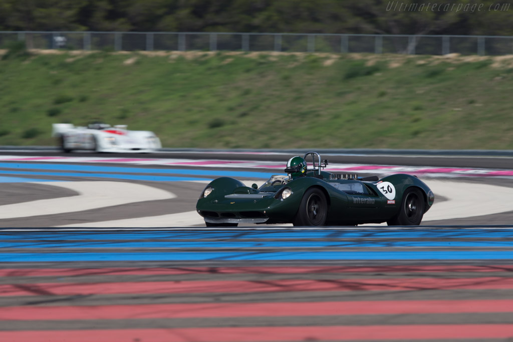 Lotus 30 Ford - Chassis: 30/L/7 - Driver: Anthony Schrauwen  - 2014 Dix Mille Tours