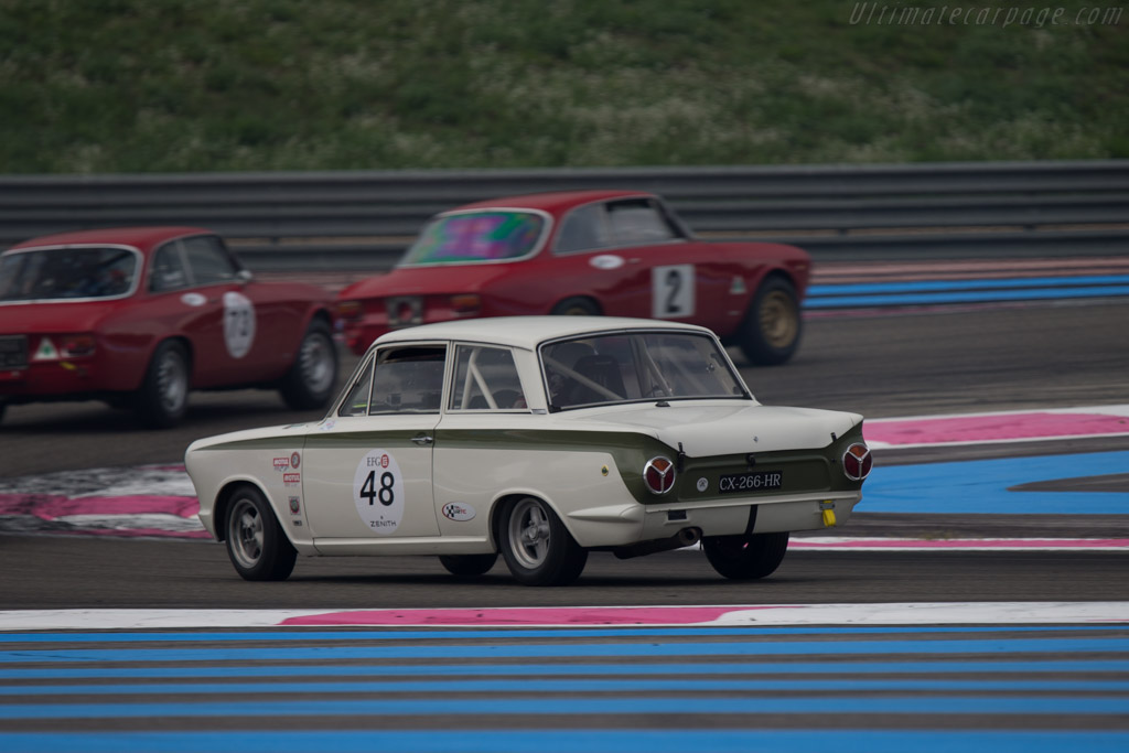 Lotus Cortina  - Driver: Richard Depagneux  - 2014 Dix Mille Tours