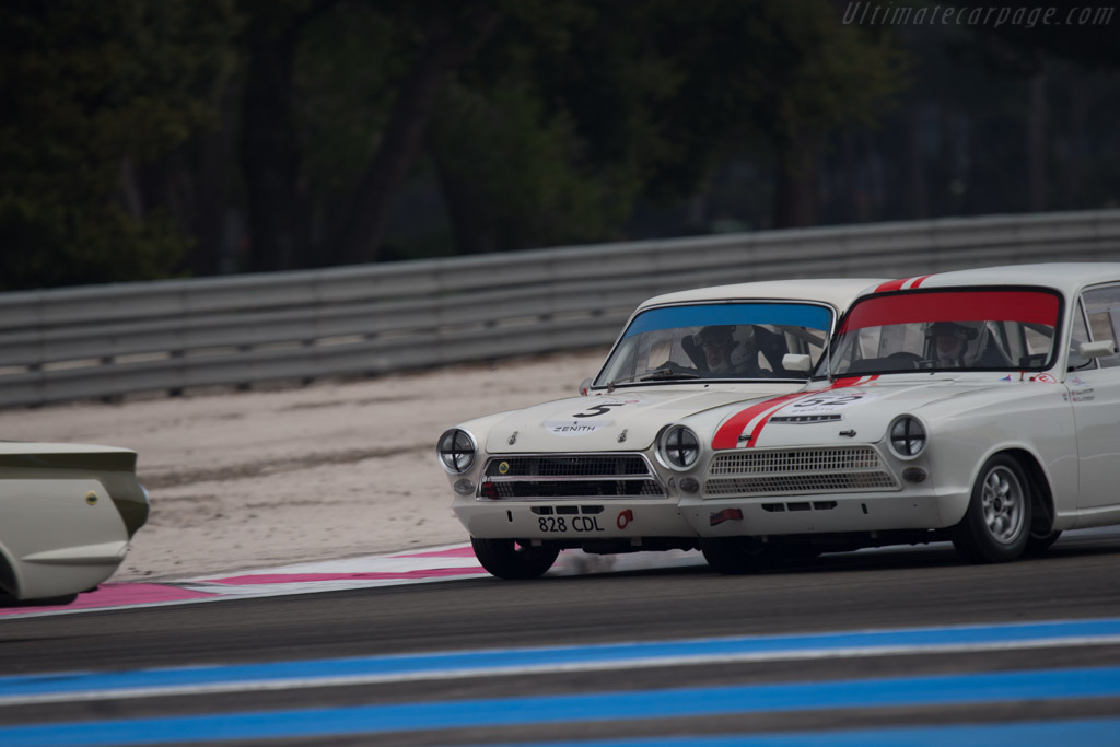 Lotus Cortina - Chassis: 113EZ73B198624 - Driver: Carlos Monteverde  - 2014 Dix Mille Tours