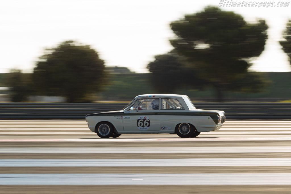 Lotus Cortina - Chassis: BA74FM59731 - Driver: Viggo Lund  - 2014 Dix Mille Tours