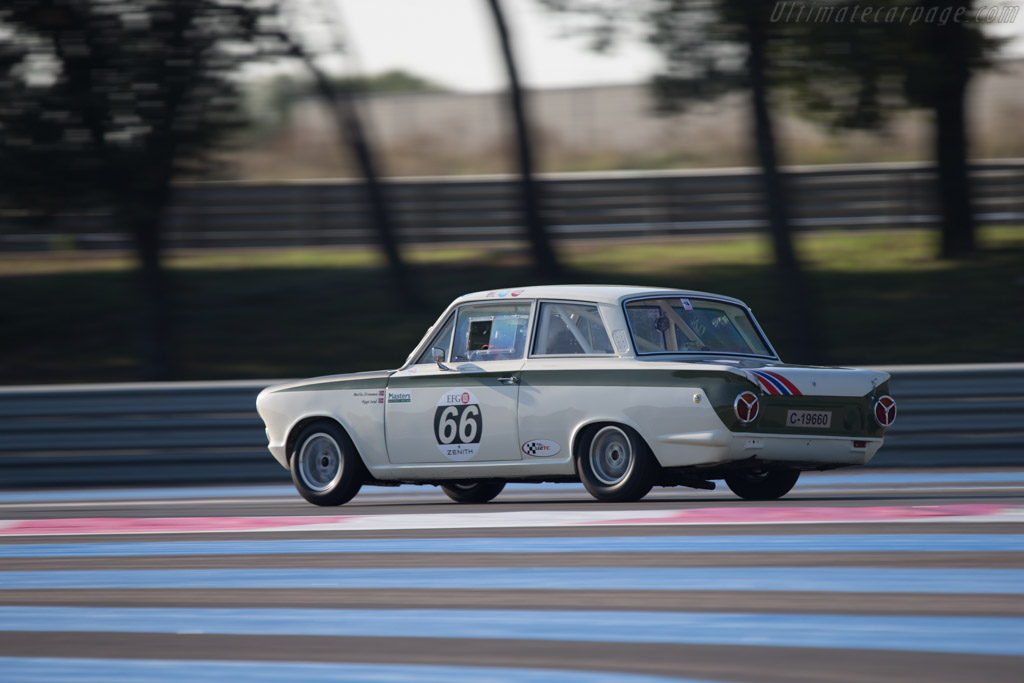 Lotus Cortina - Chassis: BA74FM59731 - Driver: Viggo Lund  - 2014 Dix Mille Tours