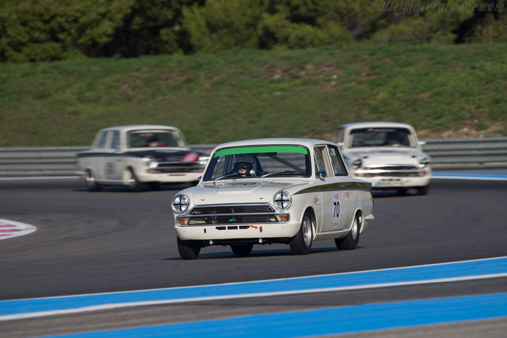 Lotus Cortina - Chassis: BA74EP59133 - Driver: Dion Kremer  - 2014 Dix Mille Tours