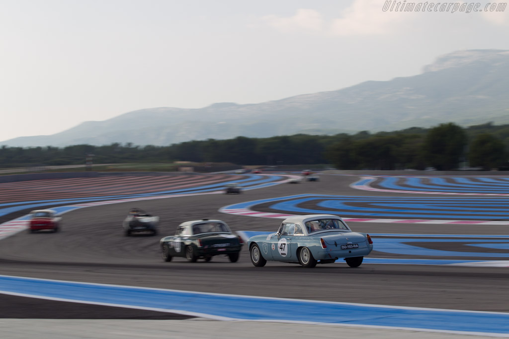 MG B - Chassis: GHN3/L71851 - Driver: Eugene Deleplanque  - 2014 Dix Mille Tours