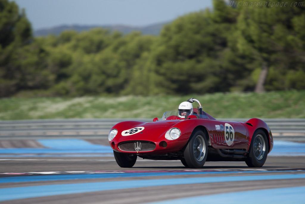 Maserati 300S - Chassis: 3060 - Driver: Conrad Ulrich  - 2014 Dix Mille Tours