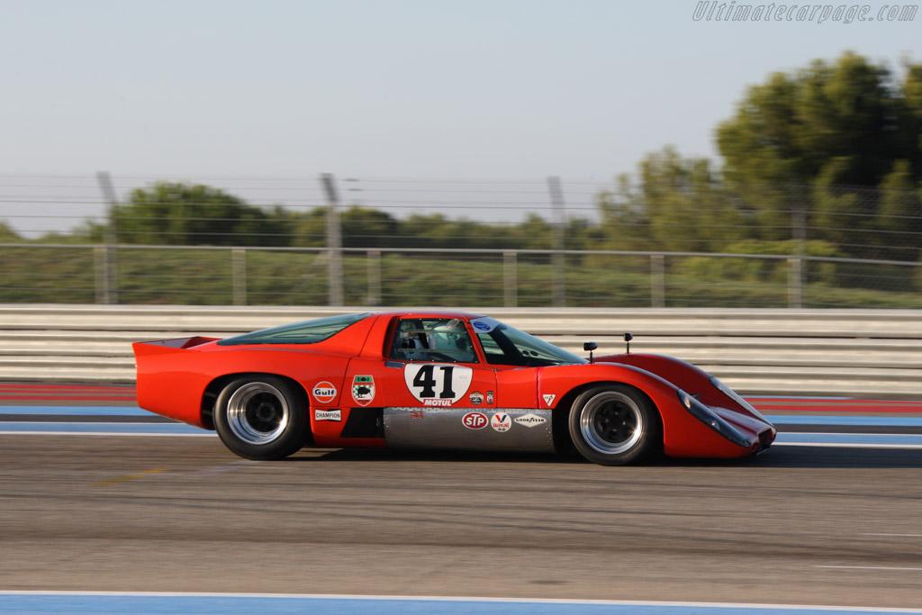 McLaren M6 GT Chevrolet - Chassis: 50-31 - Driver: Thomas Studer  - 2014 Dix Mille Tours