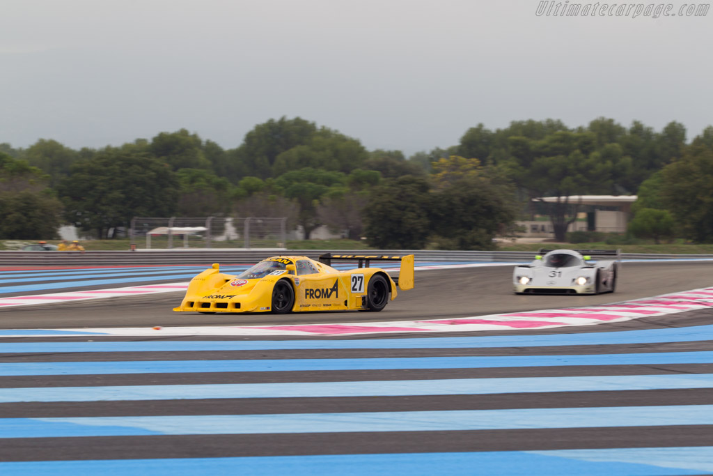 Nissan R91CP - Chassis: R90C/7 - Driver: Steve Tandy  - 2014 Dix Mille Tours