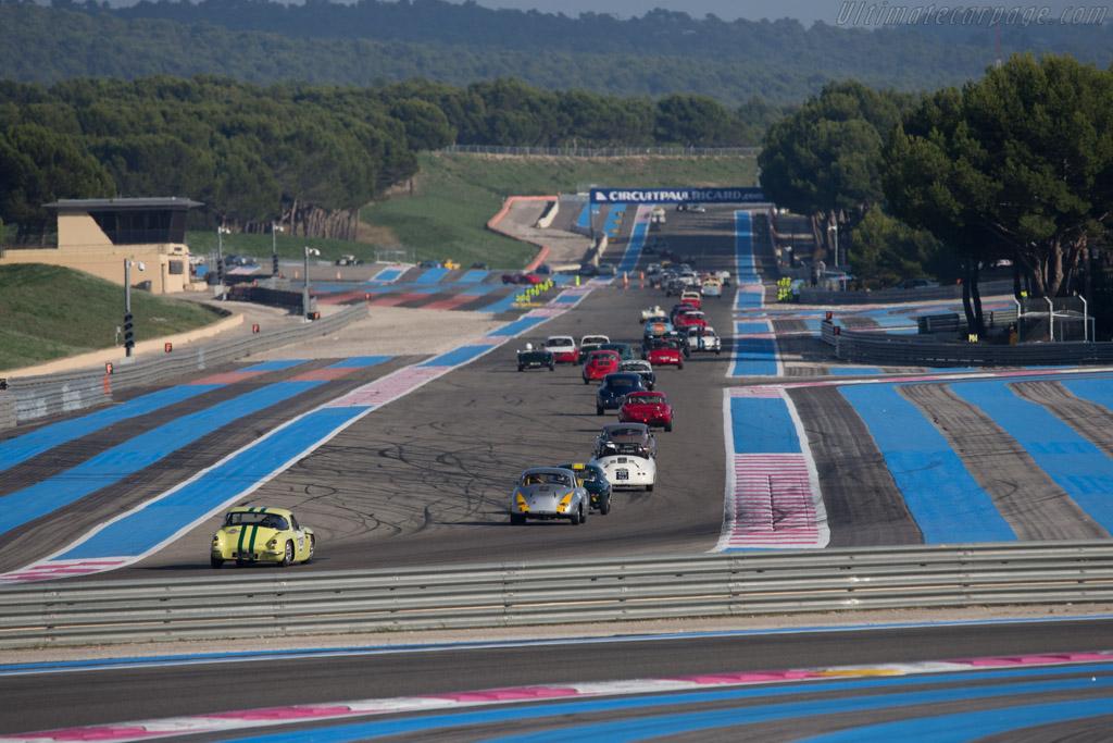 Porsche 356 BT5 Karmann Coupe  - Driver: Marc Jully / Eric Goertz  - 2014 Dix Mille Tours