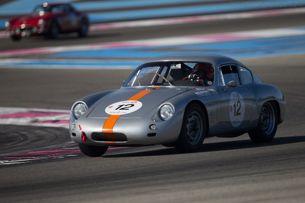 Porsche 356b Gtl Abarth Chassis 1010 Driver Peter