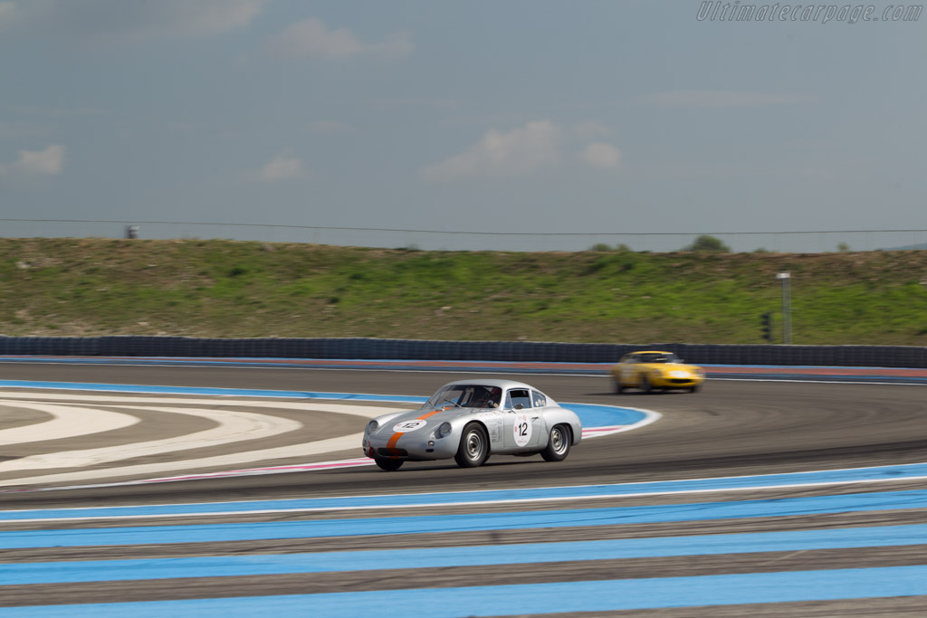 Porsche 356B GTL Abarth - Chassis: 1010 - Driver: Peter Vogele  - 2014 Dix Mille Tours