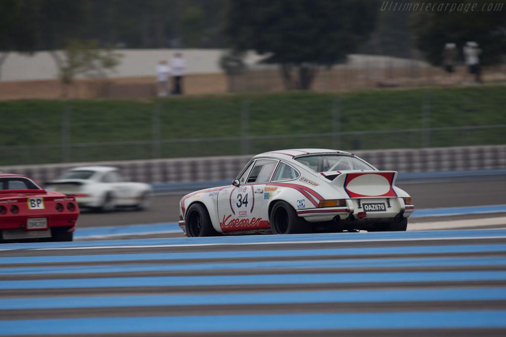 Porsche 911 Carrera RSR 2.8 - Chassis: 911 360 0844 - Driver: Francois Degand  - 2014 Dix Mille Tours