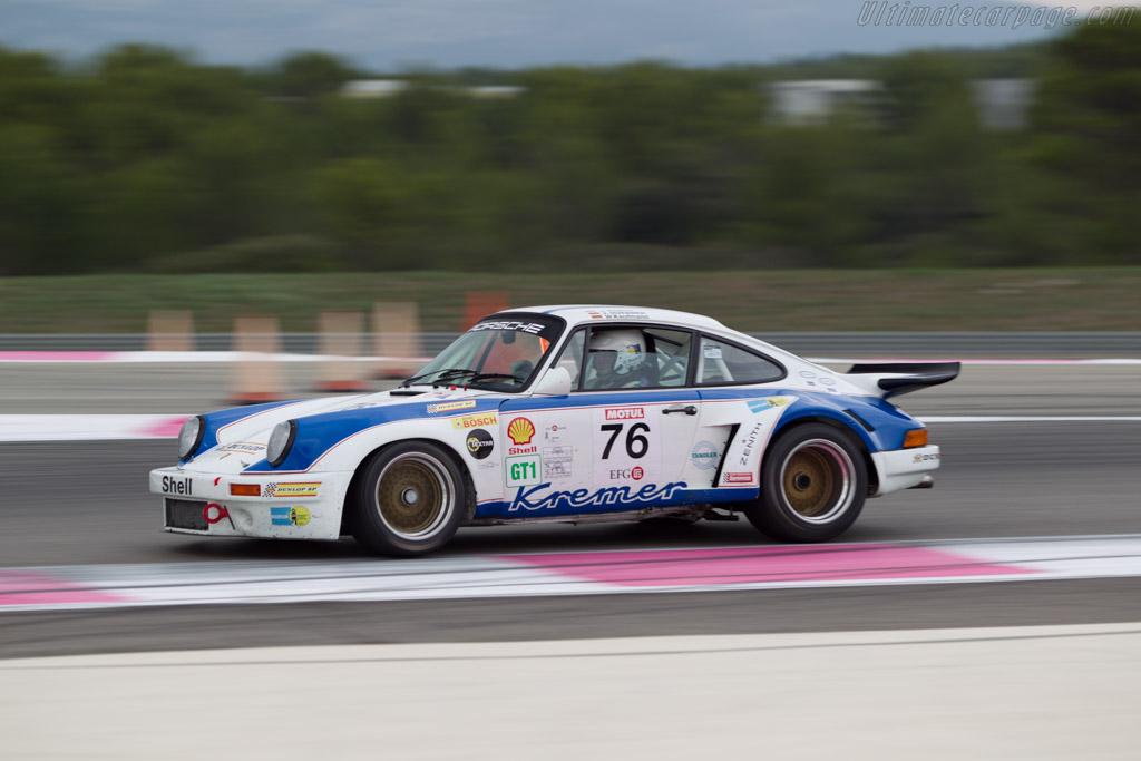 Porsche 911 Carrera RSR 3.0  - Driver: Hans-Joerg Hubner / Jurgen Barth  - 2014 Dix Mille Tours
