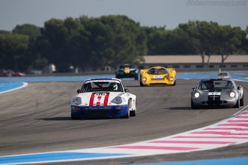 Porsche 911 Carrera RSR 3.0 - Chassis: 911 460 9072 - Driver: Juan Pablo Orjuela / Santiago Orjuela  - 2014 Dix Mille Tours