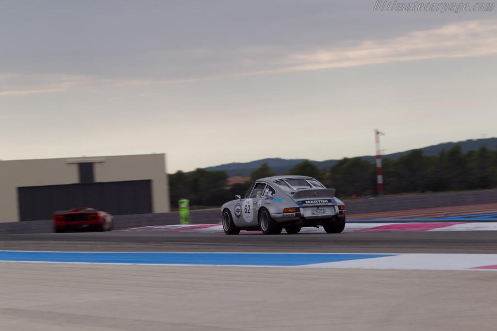 Porsche 911 Carrera RSR - Chassis: 911 360 0001 - Driver: Claudio Roddaro / Gerard Larrousse  - 2014 Dix Mille Tours