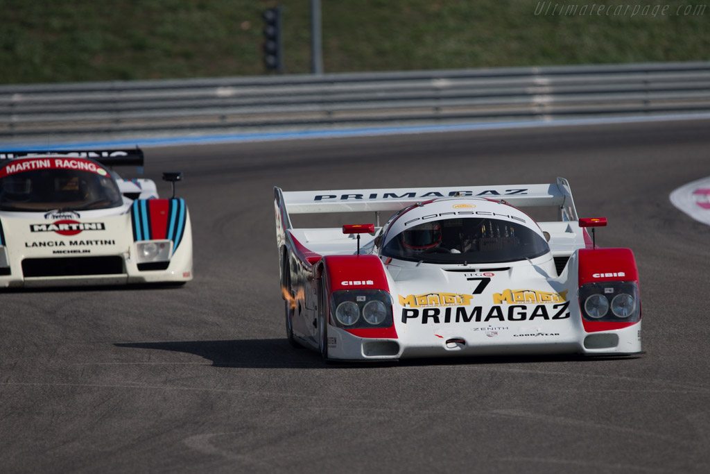 Porsche 962C - Chassis: 962-901 - Driver: Manuel Monteiro / Emmanuel Collard  - 2014 Dix Mille Tours