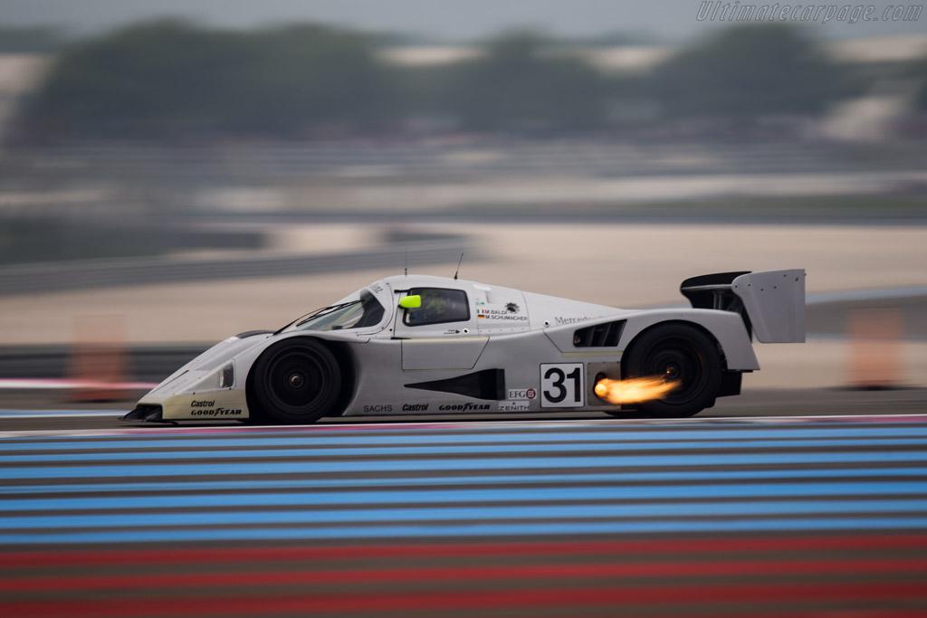 Sauber Mercedes C11 - Chassis: 89.C11.00 - Driver: Gareth Evans / Kriton Lendoudis  - 2014 Dix Mille Tours