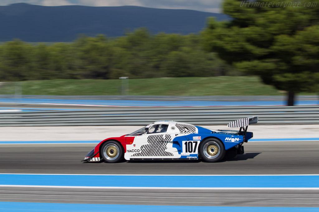Spice SE88C Cosworth - Chassis: SE88C-002 - Driver: Thomas Dozin  - 2014 Dix Mille Tours