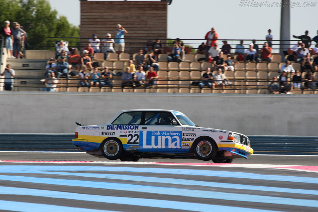 Volvo 240 Turbo - Chassis: 240A 403 - Driver: Andrew Beverley  - 2014 Dix Mille Tours