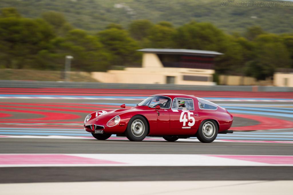 Alfa Romeo TZ - Chassis: AR750081 - Driver: Pierre Mellinger / Tomasso Gelmini  - 2015 Dix Mille Tours
