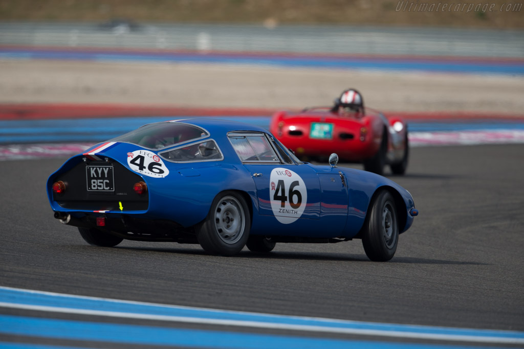 Alfa Romeo TZ - Chassis: AR750046 - Driver: Alexander Rittweger  - 2015 Dix Mille Tours