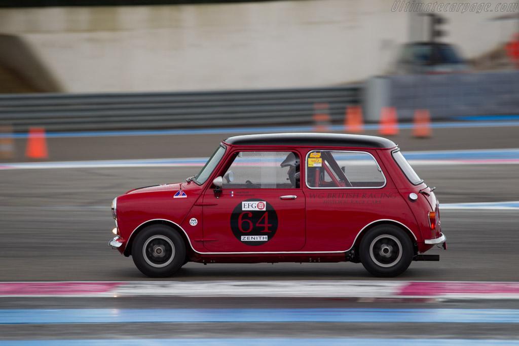 Austin Cooper S  - Driver: Jacques Tillos / Jean Marc Bussolini  - 2015 Dix Mille Tours