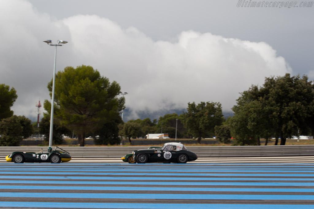 Austin Healey 3000 - Chassis: HBT7L-8161 - Driver: Serge Libens / Jean-Andre Collard - 2015 Dix Mille Tours