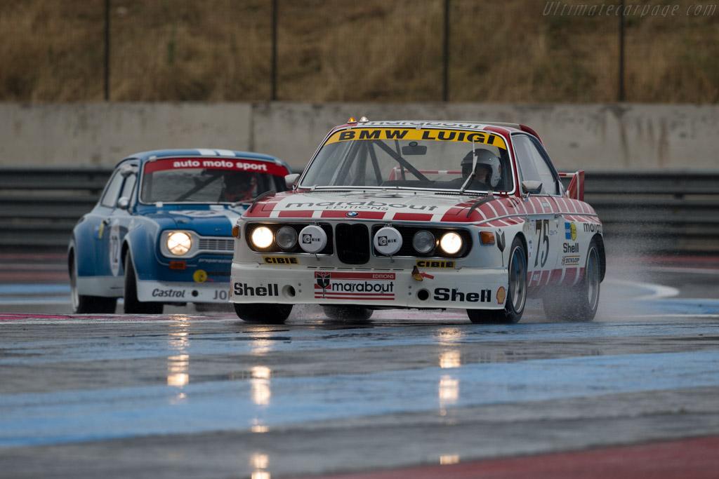 BMW 3.0 CSL - Chassis: A04-75 - Driver: Eric Mestdagh / Pierre-Alain Thibault  - 2015 Dix Mille Tours