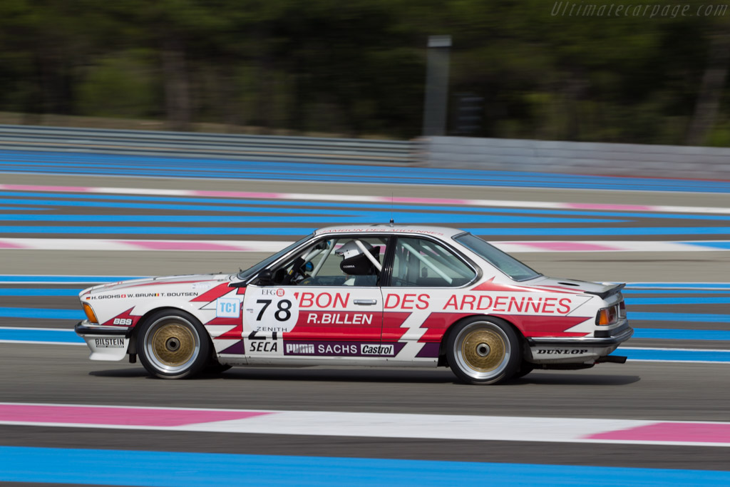 BMW 635 CSi Group A - Chassis: E24 RA1-12 - Driver: Geoffrey Peter / Yvan Mahe  - 2015 Dix Mille Tours