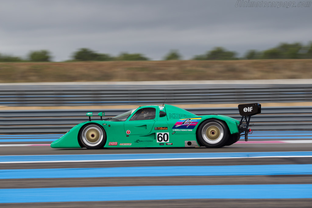 Cheetah G606 - Chassis: 002 - Driver: Eric Rickenbacher  - 2015 Dix Mille Tours