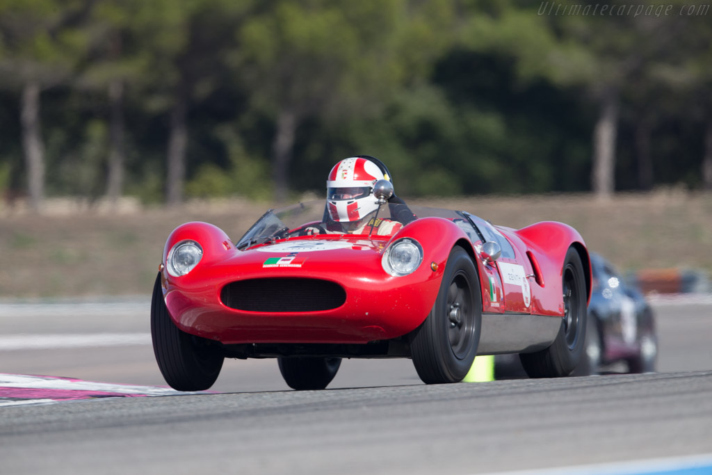 Cooper T49 Maserati - Chassis: CM-5-59 - Driver: Egon Hofer  - 2015 Dix Mille Tours