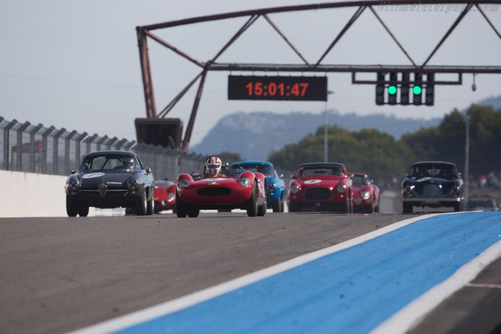 Cooper T49 Maserati - Chassis: CM-5-59 - Driver: Egon Hofer  - 2015 Dix Mille Tours