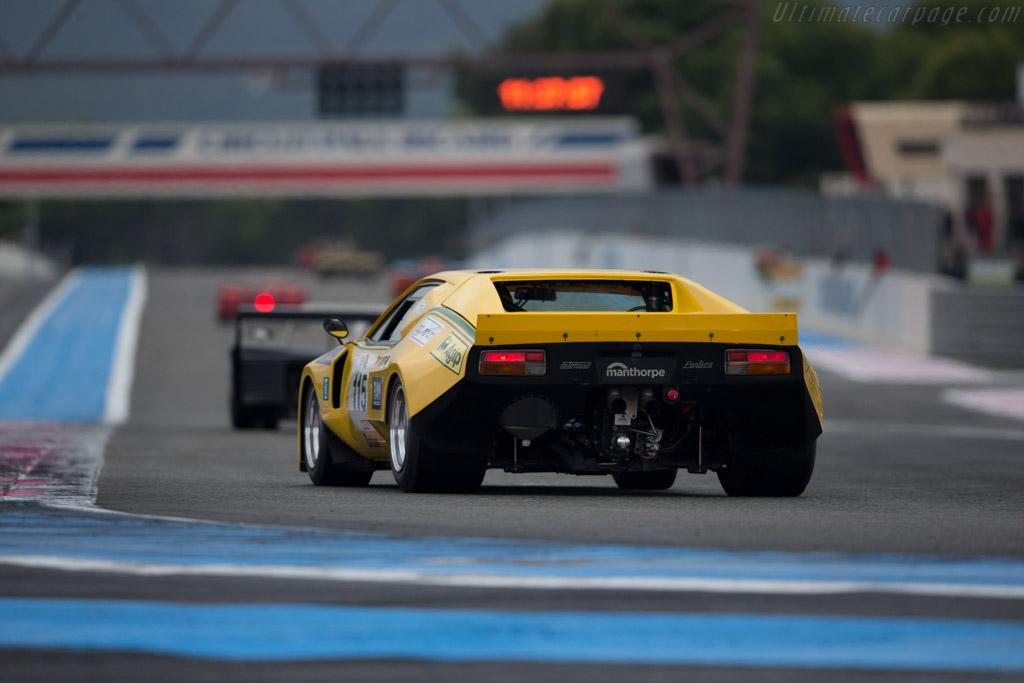 DeTomaso Pantera - Chassis: 02343 - Driver: Paul Pochiol / James Hanson  - 2015 Dix Mille Tours