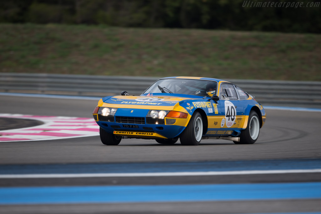 Ferrari 365 GTB/4 Daytona - Chassis: 13219 - Driver: Tim Summers  - 2015 Dix Mille Tours