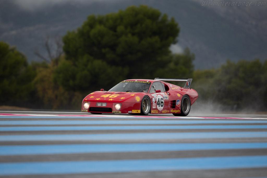 Ferrari 512 BB LM - Chassis: 35525 - Driver: Christian Bouriez  - 2015 Dix Mille Tours