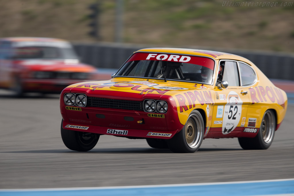Ford Capri RS 2600 - Chassis: GAECLE42482 - Driver: Yves Scemama  - 2015 Dix Mille Tours