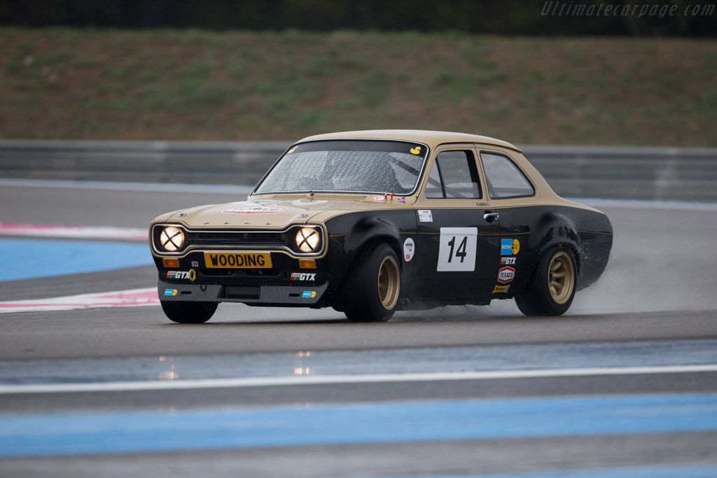 Ford Escort RS 2000  - Driver: Mike Humphries  - 2015 Dix Mille Tours