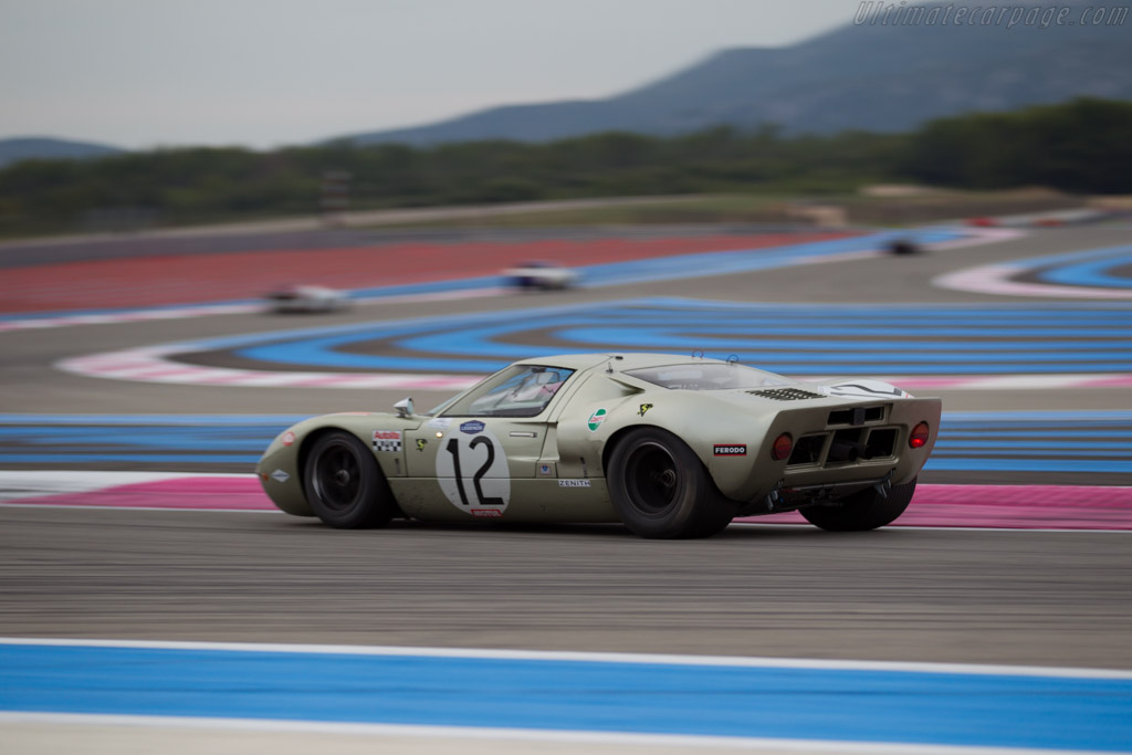 Ford GT40 - Chassis: GT40P/1078 - Driver: Claude Nahum ...